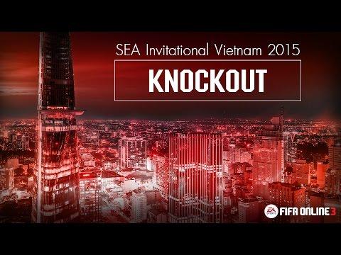 [ KNOCKOUT ] FIFA ONLINE 3 SEA Invitational Vietnam 2015