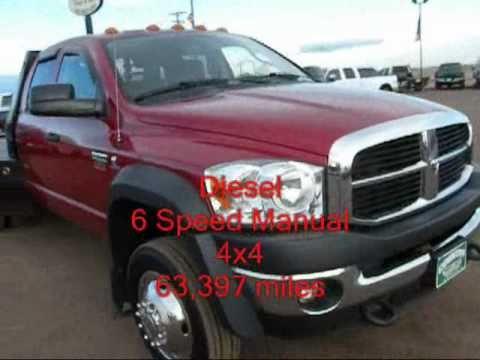 Sold 2009 Dodge Ram 4500 4x4 6 7 Diesel Quad Cab 6 Speed