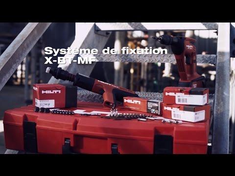 DÉCOUVREZ le clou goujon X-BT-MF