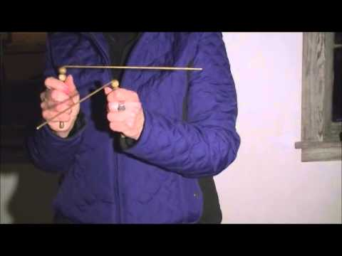 Paranormal investigation dowsing rods experiment