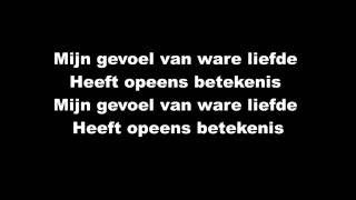 Jan Smit & Kim Lian - Jij Bent Daar (Lyrics Video)