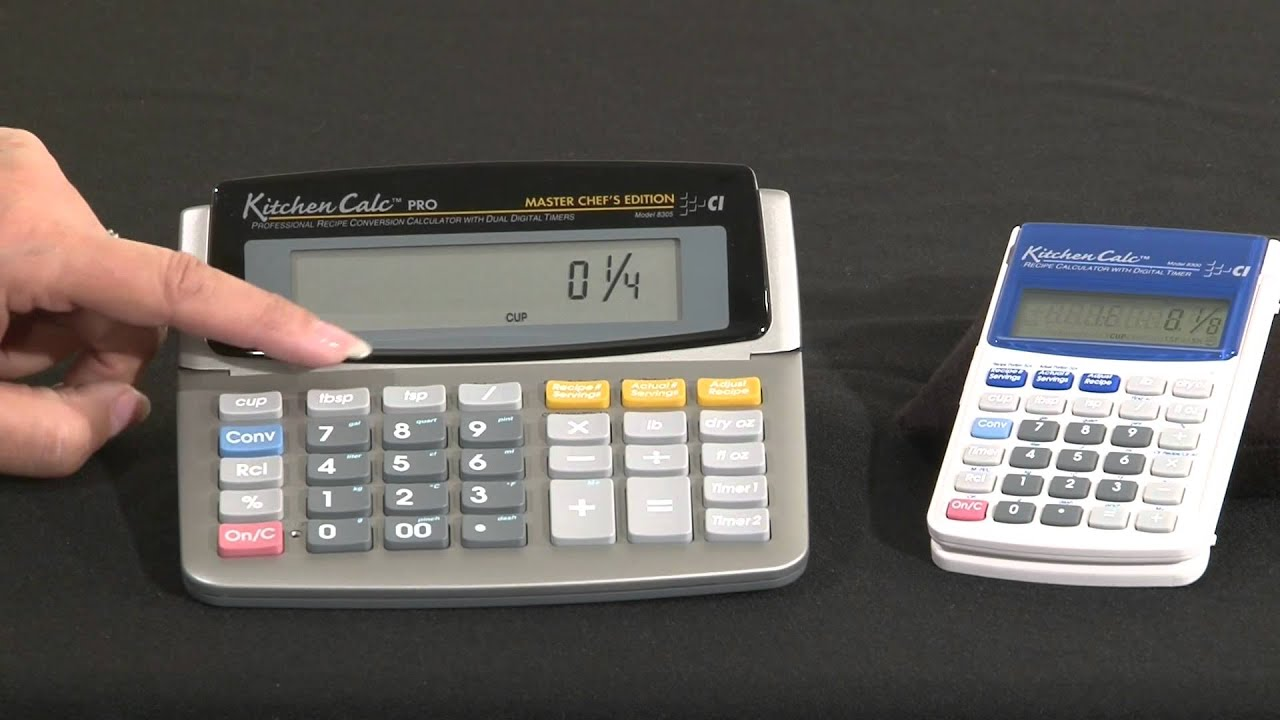 kitchen calculator sears calc pro intro and how to use youtube