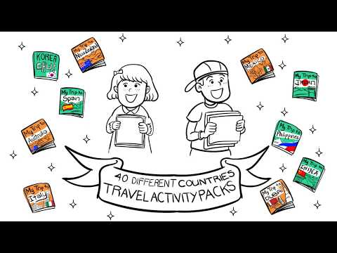 Fly It Quiet Activity Packs - Printable Travel Guides and