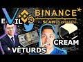 Vechain the VEHUSTLE: CEO + Binance CAUGHT!!  CREAM☠️ | Part 2 $VET $VTHOR