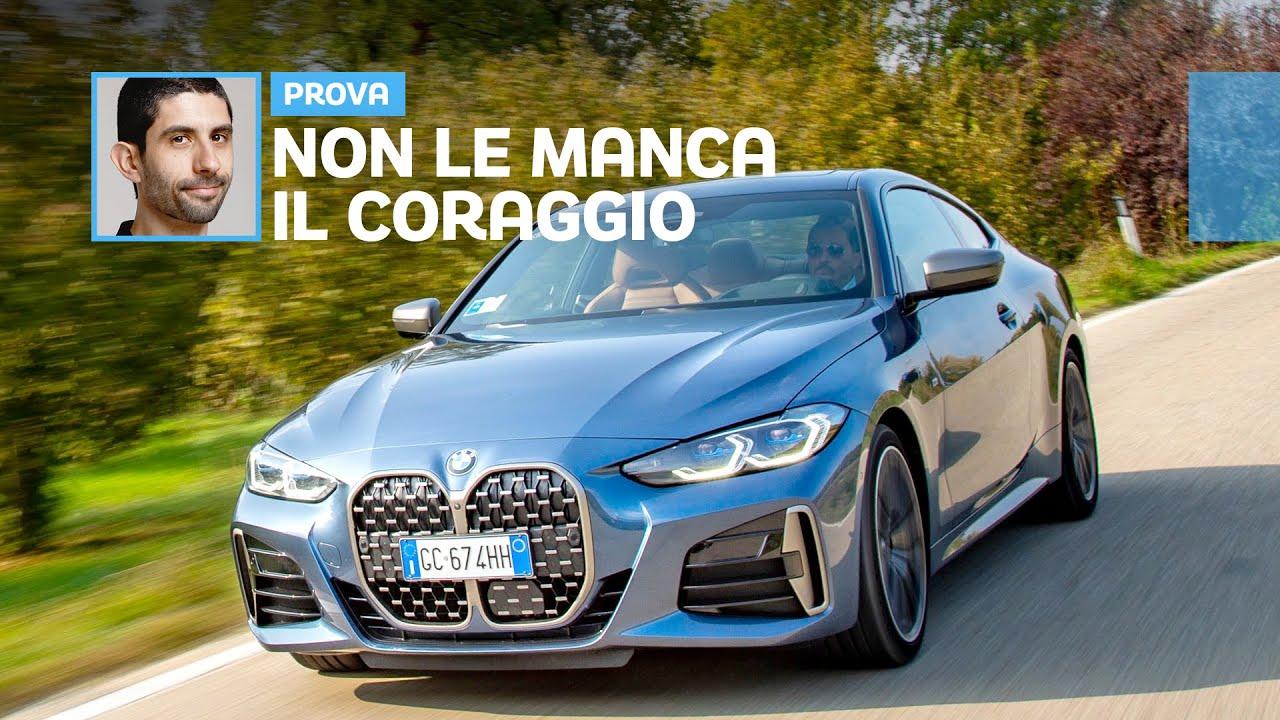 Download Nuova BMW Serie 4, ecco COME VA (griglia ENORME a parte)