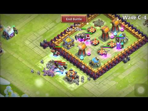 Castle Clash - How To Get SHARDS Fast! (Farming HBM)
