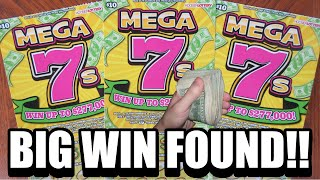 "Bought 3 ""Mega 7's"" Lottery Tickets And Won Big!!"
