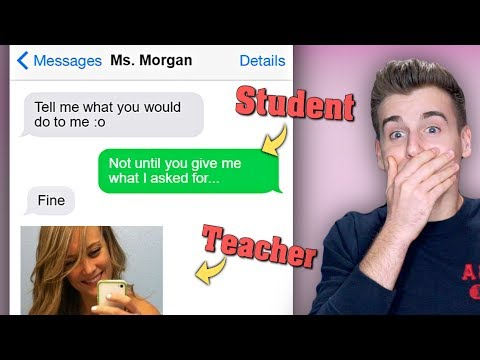 Inappropriate Texts Between Students And Teachers