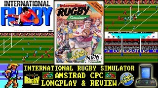 [AMSTRAD CPC] International Rugby Simulator - Longplay & Review