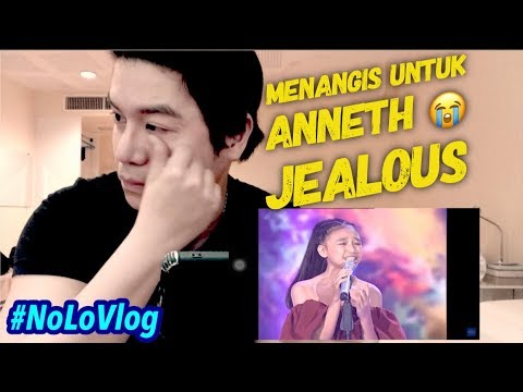 CRYING OVER ANNETH 's JEALOUS | Agnez Mo 's Girl | Indonesian Idol Junior 2018 | Nolo Lopez TV
