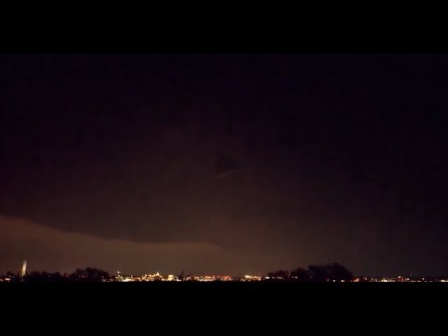 MASSIVE Pyramid-Shaped UFO Seen Hovering Over Pentagon