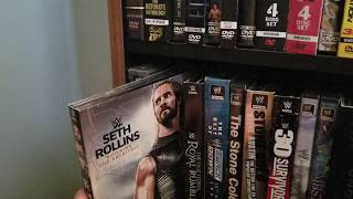 2018 Wrestling VHS/DVD/Blu Ray Collection (WWE, TNA/IMPACT, ROH, NJPW)