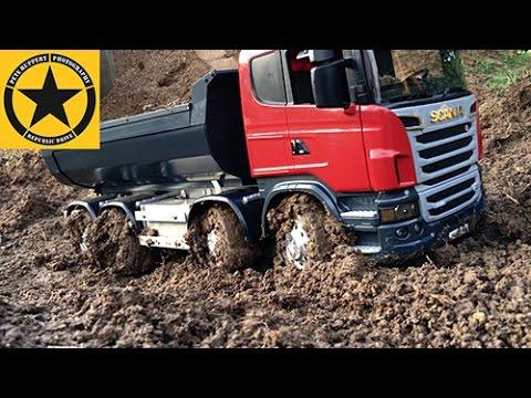 BRUDER Toys TRUCK ✅ Muddy SCANIA MAGOM HRC in Jacks bworld CONSTRUCTION