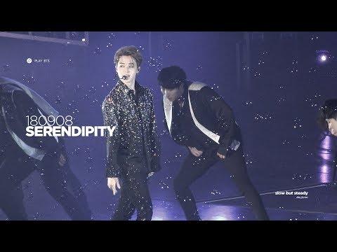 180908 방탄소년단 지민 (BTS JIMIN) - Serendipity (4K fancam)