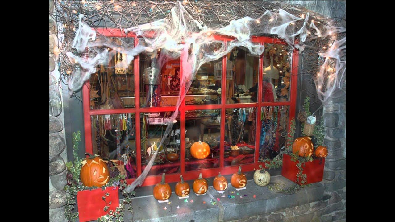 Halloween Shop Displays.Stunning Halloween Shop Window Displays