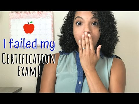 I Failed My Certification Exams! | Tips For Test Prep