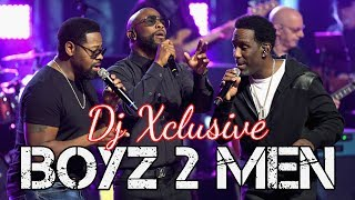 BOYZ 2 MEN MIX 2019 ~ MIXED BY DJ XCLUSIVE G2B ~ I'll Make Love To You, End Of The Road & More