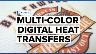 How to Use Digital Heat Transfers to Get Multi-Color Designs