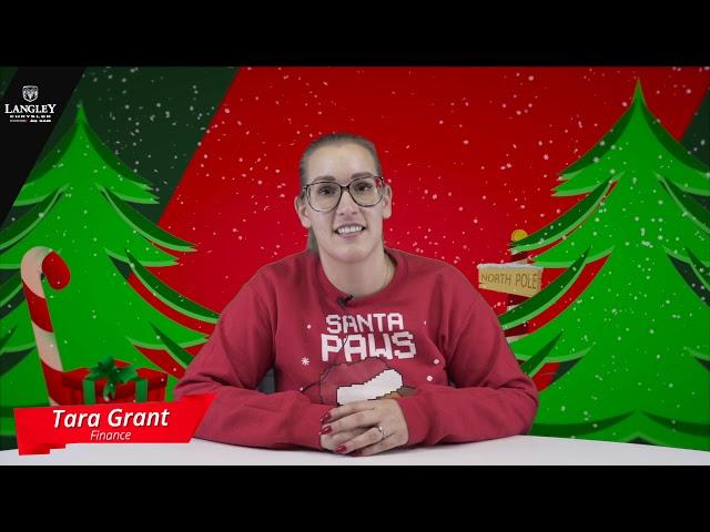 Tara - Christmas Question
