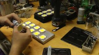 1kW water cooled LED build - Part 1