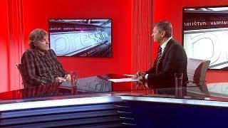 Emir Kusturica u Pressingu o Kosovu, protestima u Banjaluci i Beogradu...
