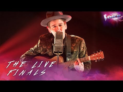 AP D'Antonio sings I'm On Fire | The Voice Australia 2018