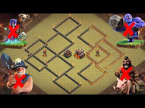 Th10 War Base: Best Th10 War Base Copy Link 2020 | Defense Against Th11 GoBoPe; Th10 Witch Slap, Etc