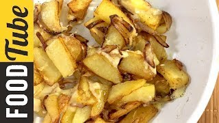 Превосходный Жареный Картофель! Вкусные Рецепты