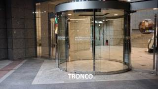 [TRONCO]Automatic Curved Sliding door 弧型橫拉自動門(全圓式)