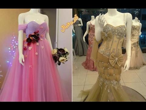 02cccab9e4683  جديد اروع موديلات فساتين خطوبة وسهرة لعيونكم 🌹 fashion soiree dresses 2017  - YouTube