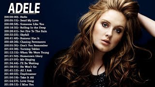 ADELE 21 - The Best of Adele  2018 -  Adele Greatest Hits FULL ALBUM 2018