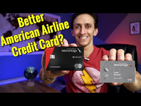 Best American Airline Credit Card | Barclay Aviator Red Or Citi AAdvantage Platinum Select