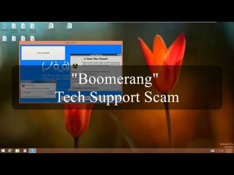 """Boomerang Technologies"" Tech Support Scam 