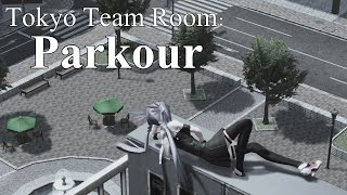 【PSO2】Tokyo Team Room: Parkour