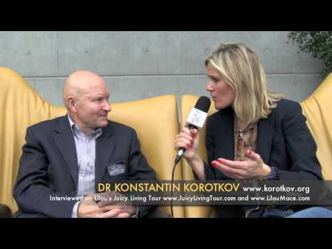 Prof. Korotkov: Do human beings need technology to evolve ? Biophysics & consciousness