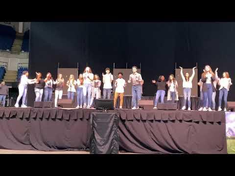Houma Christian School Senior Beta Group Talent Perfomance