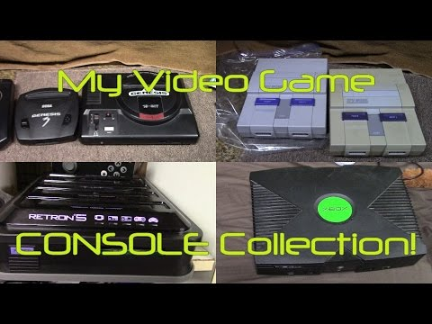 My Video Game CONSOLE collection! (Aug 2016)