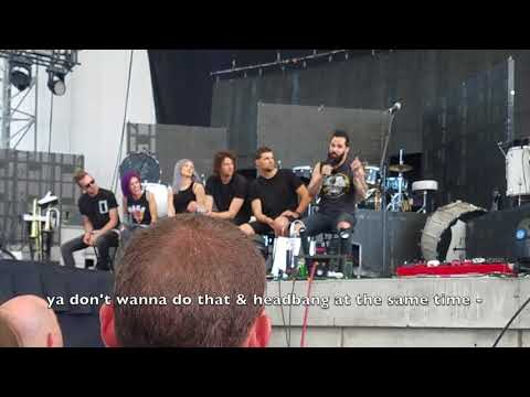 Skillet & For King and Country Q&A Jacksonville 2018