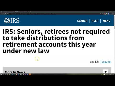 irs:-seniors,-retirees-not-required-to-take-distributions-from-retirement-accounts-this-year