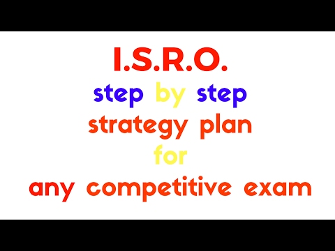 how to prepare for ISRO 2017 exam, strategy