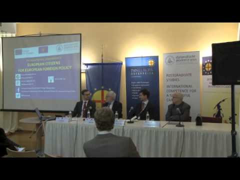 European Citizens for European Foreign Policy - Panel 2
