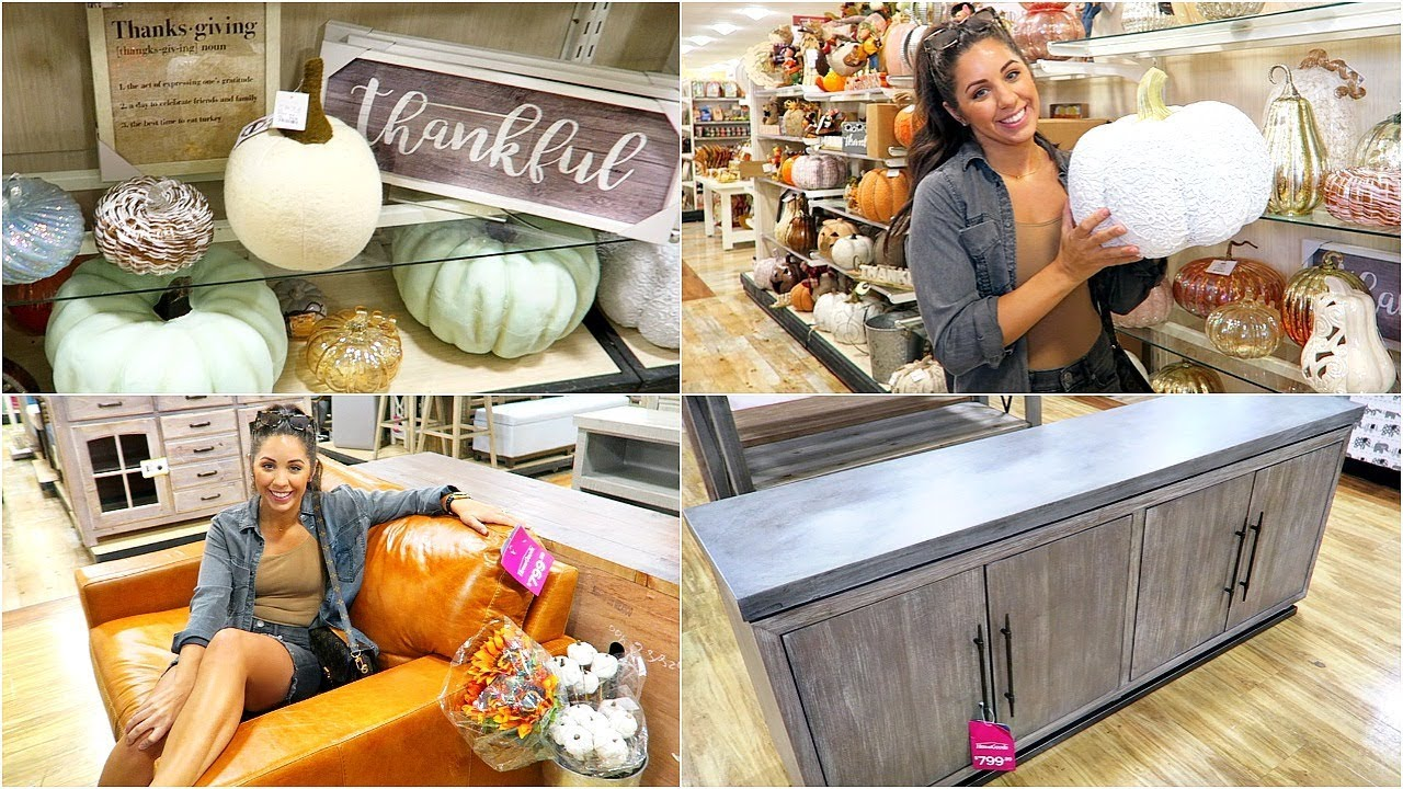 HOME GOODS SHOP WITH ME & HAUL! FALL HOME DECOR 2018