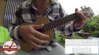 Adam Sandler Forgetful Lucy - Ukulele tutorial