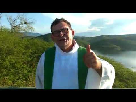 Padre Luciano e fiéis de Santa Terezinha voltam ao Açude Capoeira para agradecer a Deus pelas chuvas