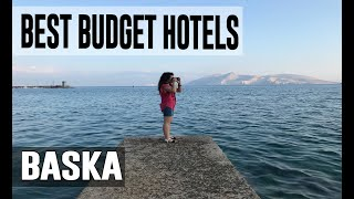 Cheap and Best Budget Hotel in Baska, Croatia