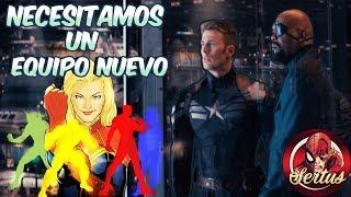 """7 Equipos que pueden remplazar a los Vengadores en el """"MCU"""""""