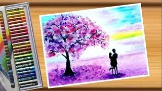 Drawing couples on Valentine's Day. / วาดรูปคู่รักในวันวาเลนไทน์