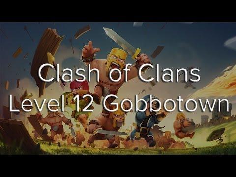Clash of Clans Gobbotown Walkthrough Updated