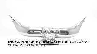 Insignia Bonete Cuernos De Toro GRG48181