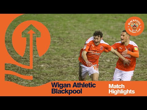 Wigan Blackpool Goals And Highlights